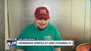 Kenmore's King Condrell's cranks out all homemade treats