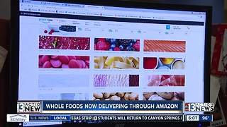 Whole Foods now delivering through Amazon Prime