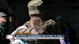 National Guardsmen deployed to Asia - Video