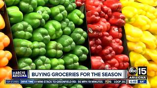 Save money by buying groceries in season - Video