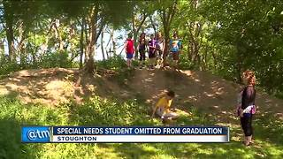 Special needs student omitted from graduation