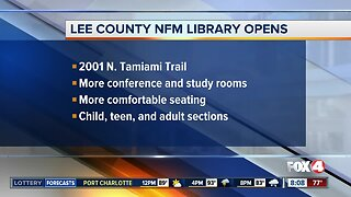 North Fort Myers Library opens