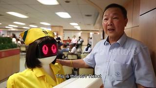 Hospital uses robots instead of nurses - Video