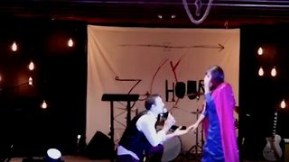 Man Proposes To Girlfriend After Disney Duet