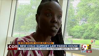 Ohio lawmakers OK child support changes