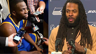"Draymond Green and Richard Sherman React to Texans Owner Calling NFL Players ""INMATES"" - Video"