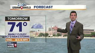 Wet weather continues into Monday - Video