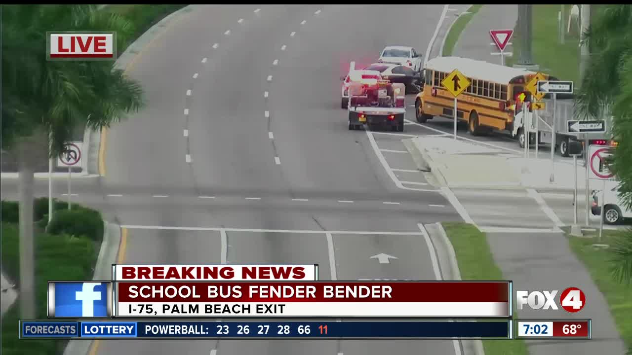 School bus crash in Fort Myers