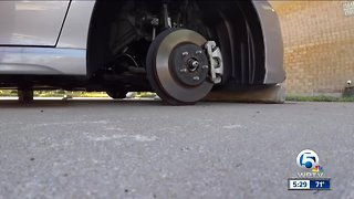 Palm Beach Gardens police investigating overnight tire thefts