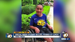Mother: Special needs student bullied, robbed