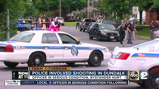 Police officer in serious condition following shootout in Dundalk - Video