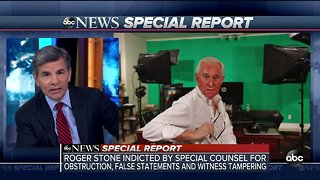 SPECIAL REPORT | Roger Stone indicted by Special Counsel for obstruction, false statement and witness tampering
