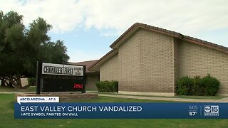East Valley church vandalized