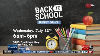 23ABC Back to School Supply Drive