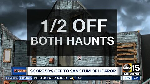 Deal of the Day: Two haunted houses in Mesa