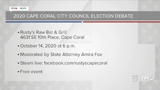 2020 Cape Coral city council election debate