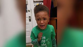 Boy Freaks Out Over Toy