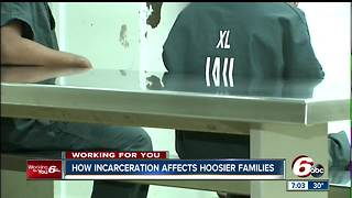 Children of incarcerated parents more likely to display aggressive behavior, studies show - Video