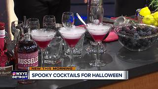 Spooky Cocktails for Halloween - Video