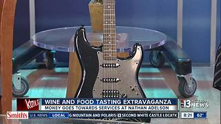 Food and Wine tasting to help Nathan Adelson Hospice - Video