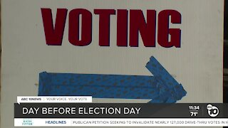 County prepares for in-person voting on Election Day