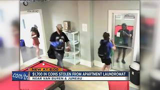 Thieves steal $1,700 in quarters from Milwaukee laundromat