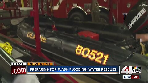 Olathe Fire warns about dangers of flash flooding