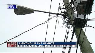 TECO and City of Tampa crews beef up lighting, alley cleanups in Southeast Seminole Heights - Video