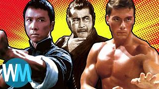 Top 10 Iconic Martial Arts Movie Heroes - Video