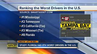 Florida no longer has the worst drivers in the nation, study finds