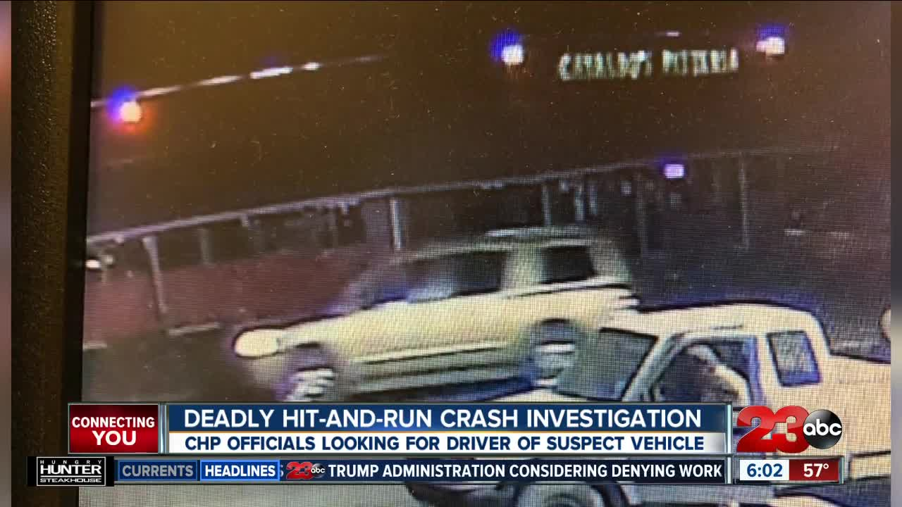 Deadly Hit-and-Run Crash Investigation