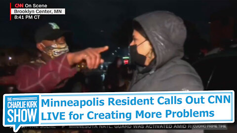 Minneapolis Resident Calls Out CNN LIVE for Creating More Problems