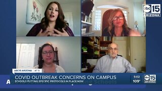 Concerns towards handling of COVID-19 cases on Arizona school campuses