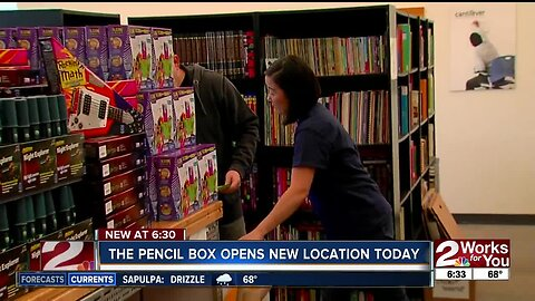 The Pencil Box opens new location today