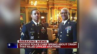 Chief Craig speaks about crash that killed officer - Video