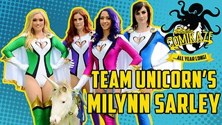 Team Unicorn's Milynn Sarley on Comikaze All Year Long - Video