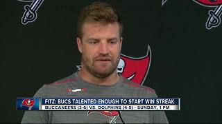 Erratic teams meet when Tampa Bay Buccaneers visits Miami Dolphins - Video