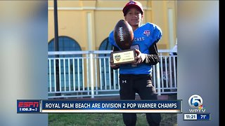 Royal Palm Beach Wildcats Division 2 Pop Warner Champs