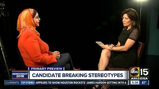 Deedra Abboud talks about Arizona senate race - Video