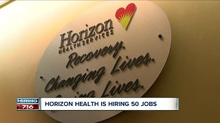 Horizon Health Services is hiring 50 new positions in 2019