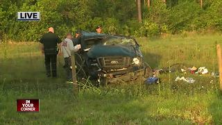 One injured in rollover crash on State Road 31 - Video