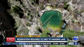 Reservations now required for Hanging Lake