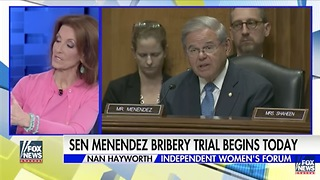 "Media Forced To Add ""Democrat"" To Menendez On Trial For Corruption - Video"