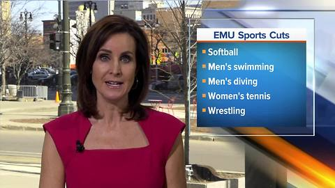 Eastern Michigan eliminating four sports programs due to budget cuts