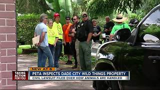 Peta files civil lawsuit against Dade City's Wild Things - Video