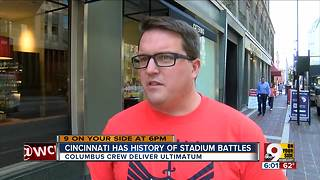 Cincinnati history of stadium battles shapes FC Cincy reaction - Video