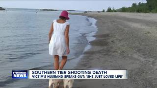Husband remembers wife shot by hunter - Video