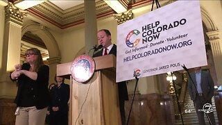 Help Colorado Now: Gov. Jared Polis launches website for coronavirus volunteer and donation opportunities