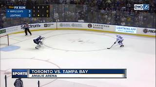 Brayden Point scores shootout winner again, Tampa Bay Lightning edge Toronto Leafs 4-3 - Video