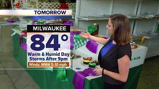 Sunny and warmer Wednesday - Video